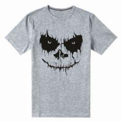 Чоловіча стрейчева футболка Страшна морда для світлого