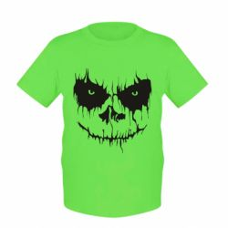 Детская футболка Страшная морда для светлого