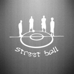 Наклейка Street Ball - FatLine