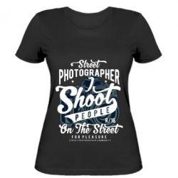 Жіноча футболка Street Photographer