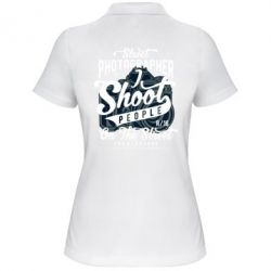 Жіноча футболка поло Street Photographer