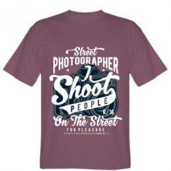 Чоловіча футболка Street Photographer