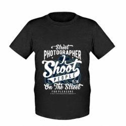 Дитяча футболка Street Photographer