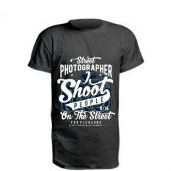 Подовжена футболка Street Photographer