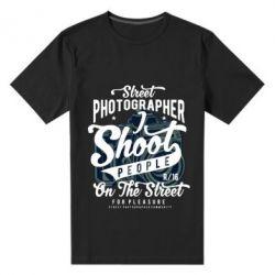 Чоловіча стрейчева футболка Street Photographer