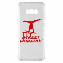 Чохол для Samsung S8+ Street workout