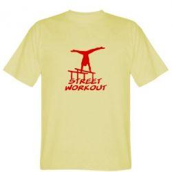 Мужская футболка Street workout - FatLine