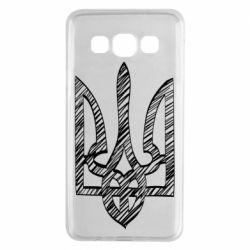 Чехол для Samsung A3 2015 Striped coat of arms