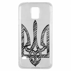 Чехол для Samsung S5 Striped coat of arms