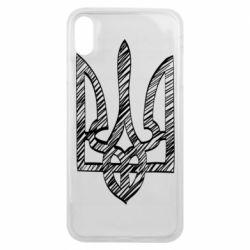 Чехол для iPhone Xs Max Striped coat of arms