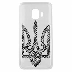 Чехол для Samsung J2 Core Striped coat of arms