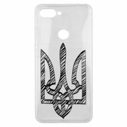 Чехол для Xiaomi Mi8 Lite Striped coat of arms