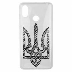 Чехол для Xiaomi Mi Max 3 Striped coat of arms