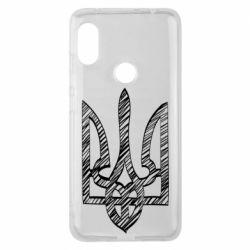 Чехол для Xiaomi Redmi Note 6 Pro Striped coat of arms