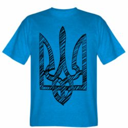 Мужская футболка Striped coat of arms