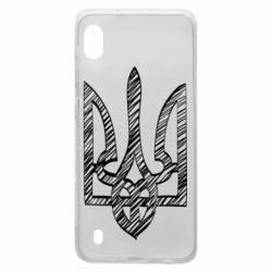 Чехол для Samsung A10 Striped coat of arms