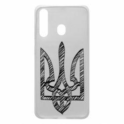 Чехол для Samsung A60 Striped coat of arms