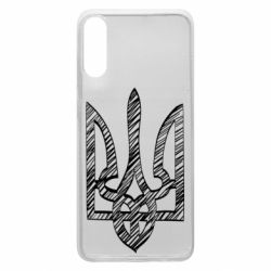 Чехол для Samsung A70 Striped coat of arms