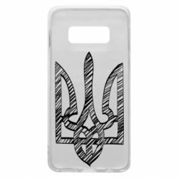 Чехол для Samsung S10e Striped coat of arms