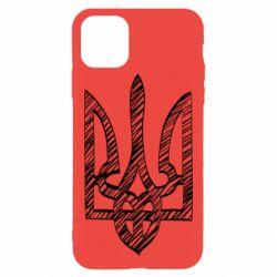Чехол для iPhone 11 Pro Max Striped coat of arms