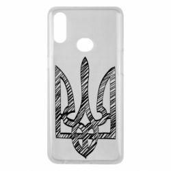 Чехол для Samsung A10s Striped coat of arms