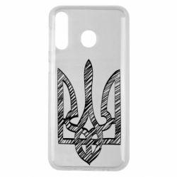 Чехол для Samsung M30 Striped coat of arms