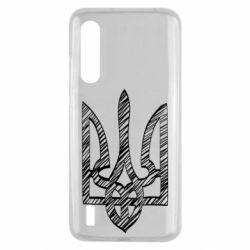 Чехол для Xiaomi Mi9 Lite Striped coat of arms