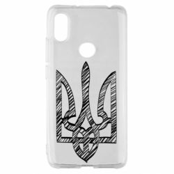 Чехол для Xiaomi Redmi S2 Striped coat of arms