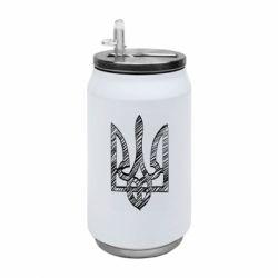 Термобанка 350ml Striped coat of arms