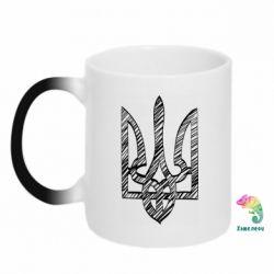 Кружка-хамелеон Striped coat of arms