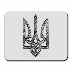 Коврик для мыши Striped coat of arms