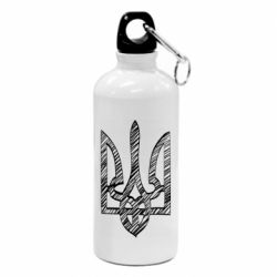 Фляга Striped coat of arms