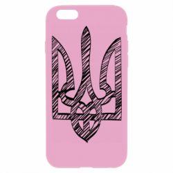 Чехол для iPhone 6 Plus/6S Plus Striped coat of arms