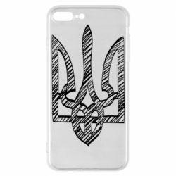 Чехол для iPhone 7 Plus Striped coat of arms