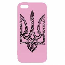 Чехол для iPhone5/5S/SE Striped coat of arms