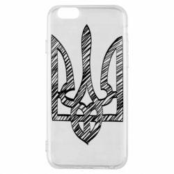 Чехол для iPhone 6/6S Striped coat of arms