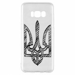 Чехол для Samsung S8 Striped coat of arms
