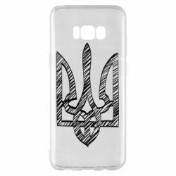 Чехол для Samsung S8+ Striped coat of arms