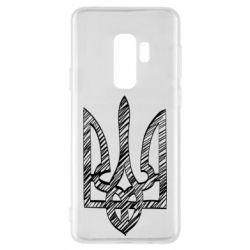 Чехол для Samsung S9+ Striped coat of arms