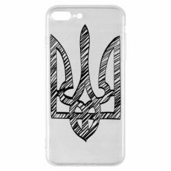 Чехол для iPhone 8 Plus Striped coat of arms
