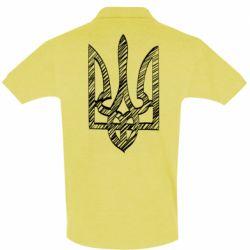 Мужская футболка поло Striped coat of arms