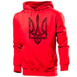 Мужская толстовка Striped coat of arms