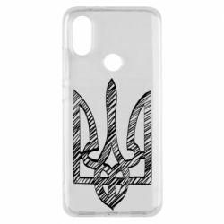 Чехол для Xiaomi Mi A2 Striped coat of arms