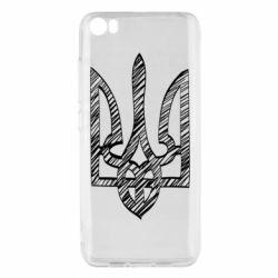 Чехол для Xiaomi Mi5/Mi5 Pro Striped coat of arms