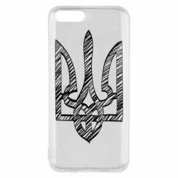 Чехол для Xiaomi Mi6 Striped coat of arms