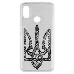 Чехол для Xiaomi Mi8 Striped coat of arms