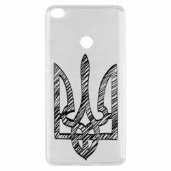 Чехол для Xiaomi Mi Max 2 Striped coat of arms