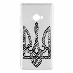 Чехол для Xiaomi Mi Note 2 Striped coat of arms