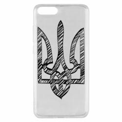 Чехол для Xiaomi Mi Note 3 Striped coat of arms