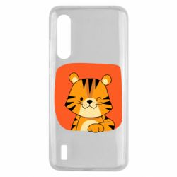 Чехол для Xiaomi Mi9 Lite Striped tiger with smile